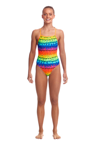 Funkita Girls Strapped In One Piece Wing It