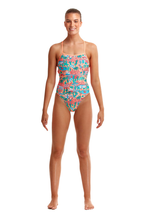 NEW! Funkita Ladies Strapped In One Piece<br/>Burning Man