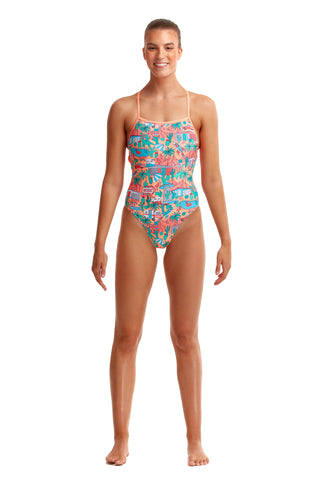 NEW! Funkita Ladies Strapped In One Piece Burning Man