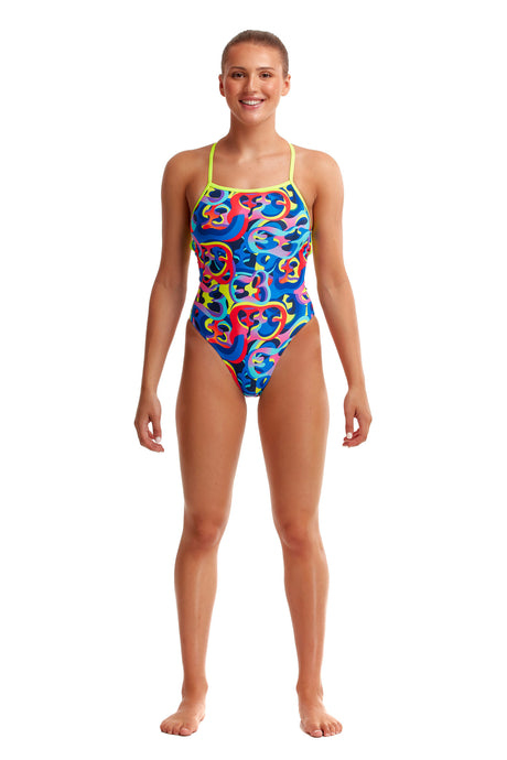 LAST ONE! Funkita Ladies Strapped In One Piece<br/>Organica