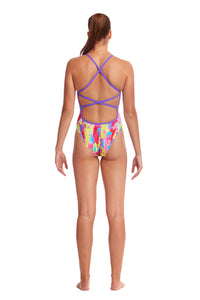 LAST ONE! Funkita Ladies Strapped In One Piece<br/>Splat Stat