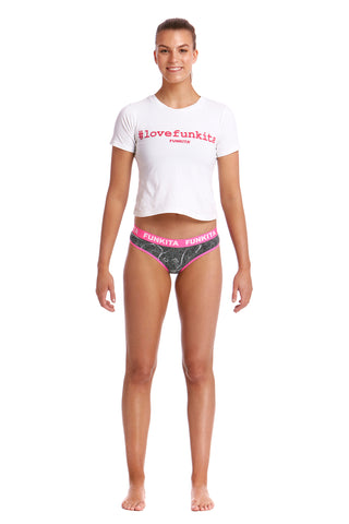 Funkita Ladies Underwear Brief Crack Up