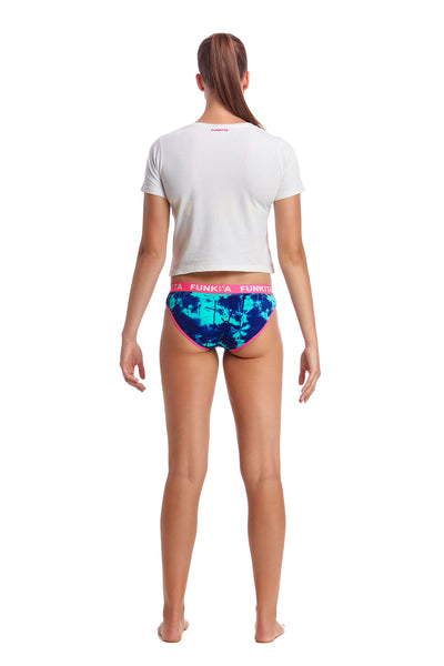 Funkita Ladies Underwear Brief Hawaiian Skies