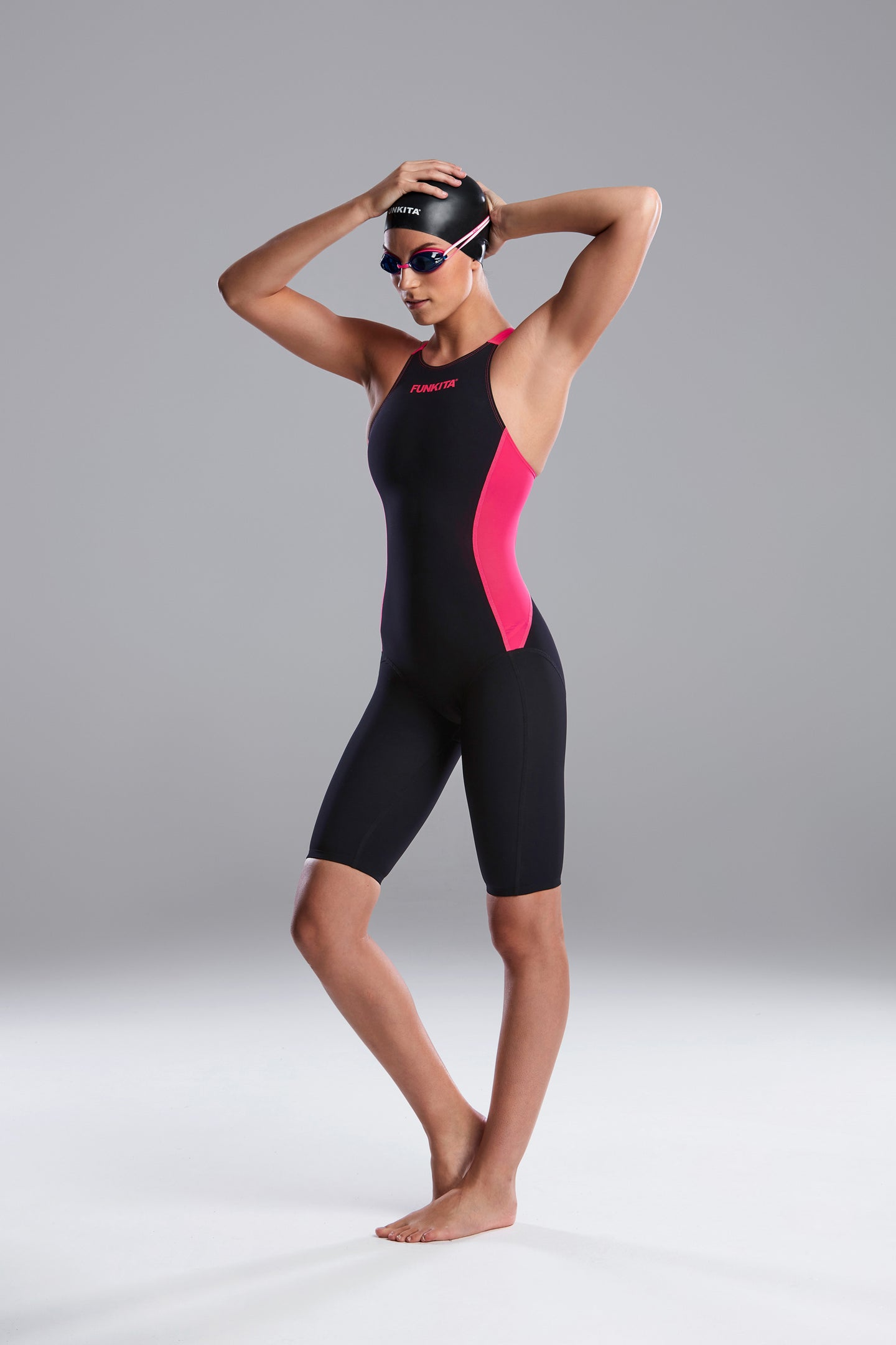 Funkita Apex Viper Performance Suit<br/>Pink Shadow