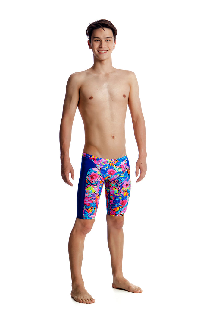 LAST ONE! Funky Trunks Boys Training Jammers<br/>Club Tropo