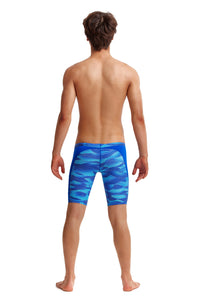 Funky Trunks Boys Training Jammers<br/>Cold Current