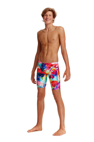 NEW! Funky Trunks Boys Training Jammers Dye Another Day