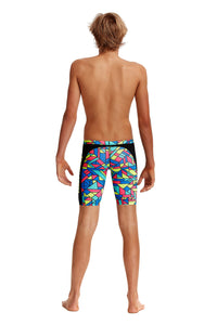 NEW! Funky Trunks Boys Training Jammers<br/>Gettin Jiggy