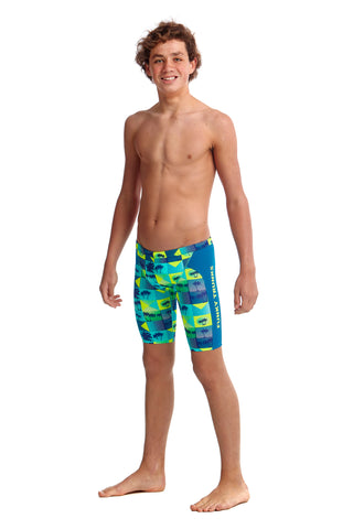 Funky Trunks Boys Training Jammers Pop Tropo