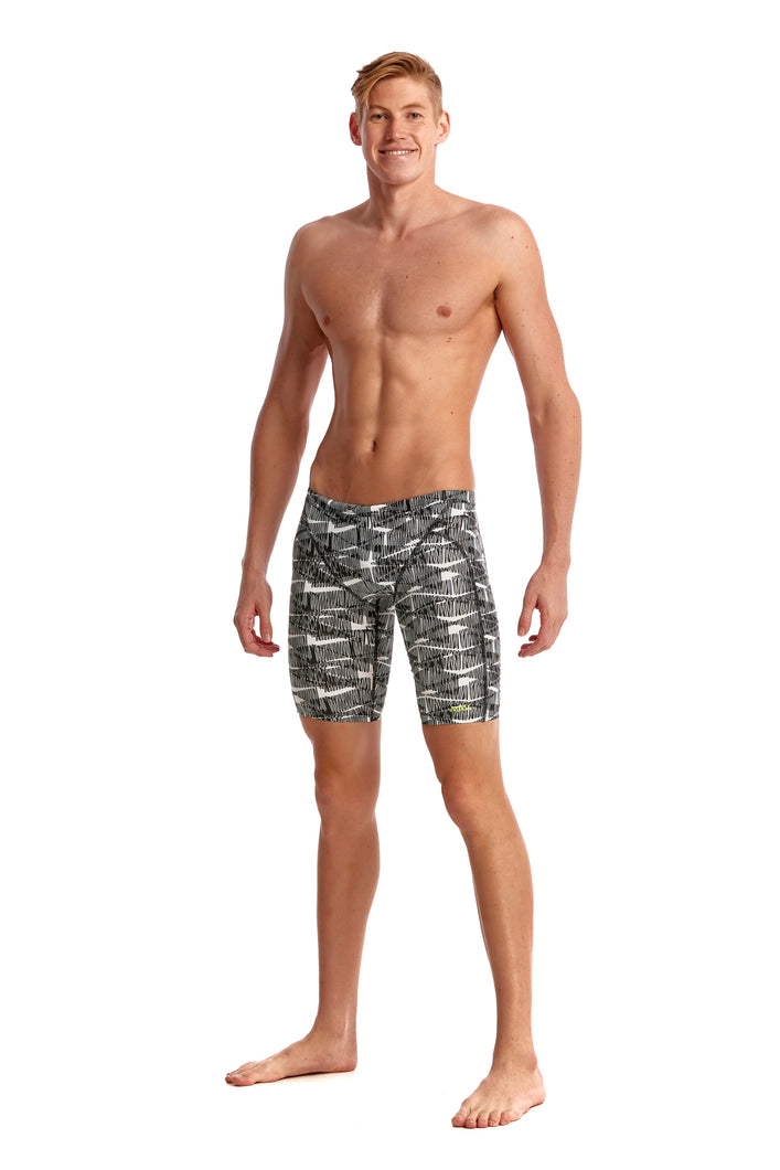 LAST ONE! Funky Trunks Mens Training Jammers<br/>Bar Tack