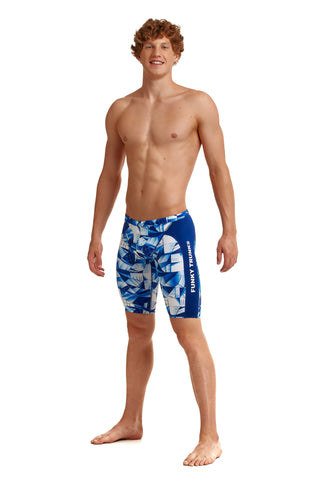 Funky Trunks Mens Training Jammers Fast Glass