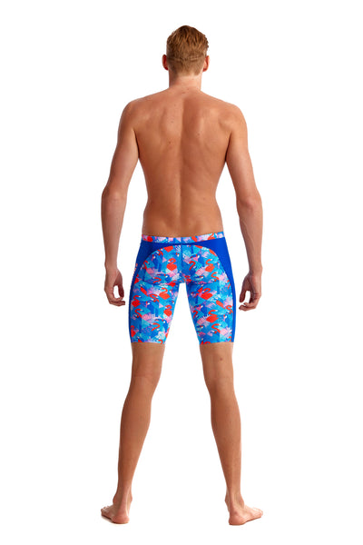 LAST ONE! Funky Trunks Mens Training Jammers Flaming Vegas