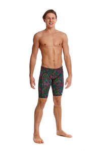 LAST ONE! Funky Trunks Mens Training Jammers<br/>Poison Pop