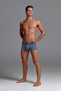 Funky Trunks Mens Underwear Trunks<br/>Two Face