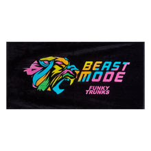 Funky Trunks Large Cotton Towel<br/>Beast Mode