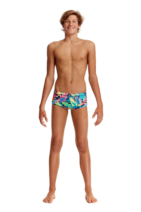 NEW! Funky Trunks Boys Eco Classic Trunks<br/>Palm Off