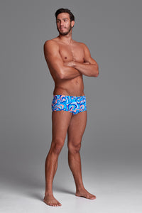 Funky Trunks Mens Eco Classic Trunks<br/>Double Scoop