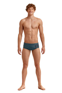 NEW! Funky Trunks Mens Sidewinder Trunks<br/>Use Your Illusion