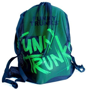 Funky Trunks Mesh Gear Bag<br>Still Black