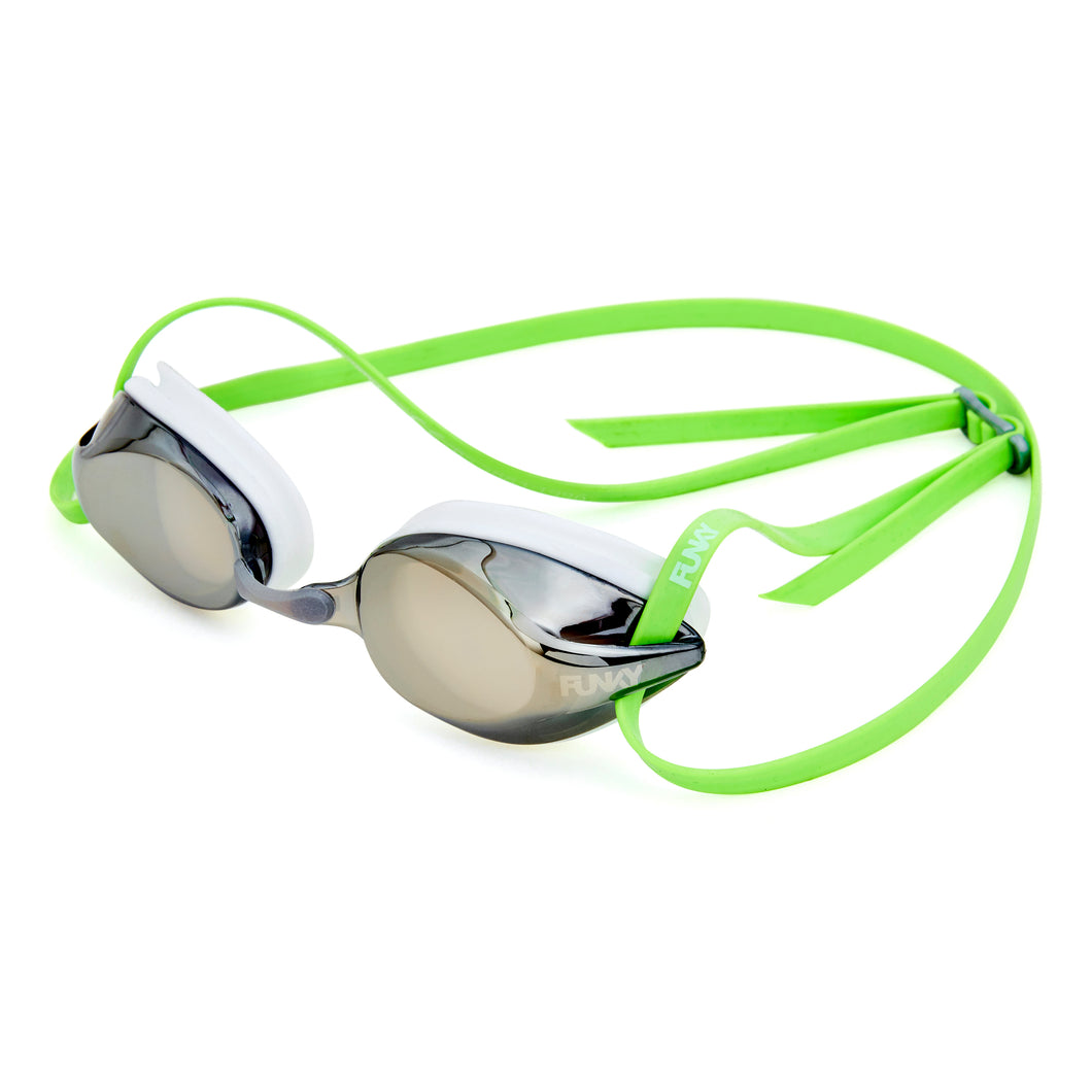 Funky Training Machine Mirrored Goggle<br/>Ice Man