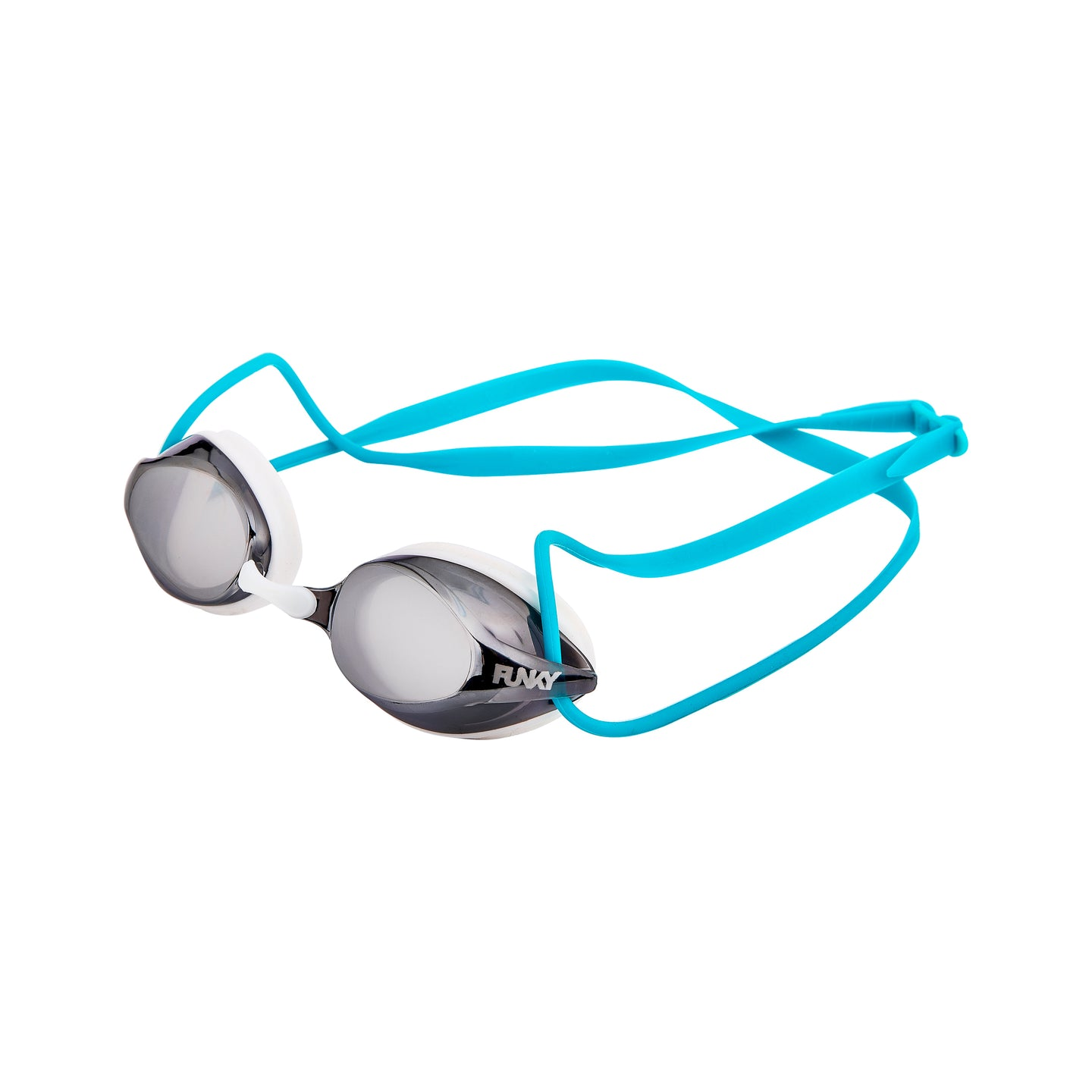 Funky Training Machine Mirrored Goggle<br/>White Wash