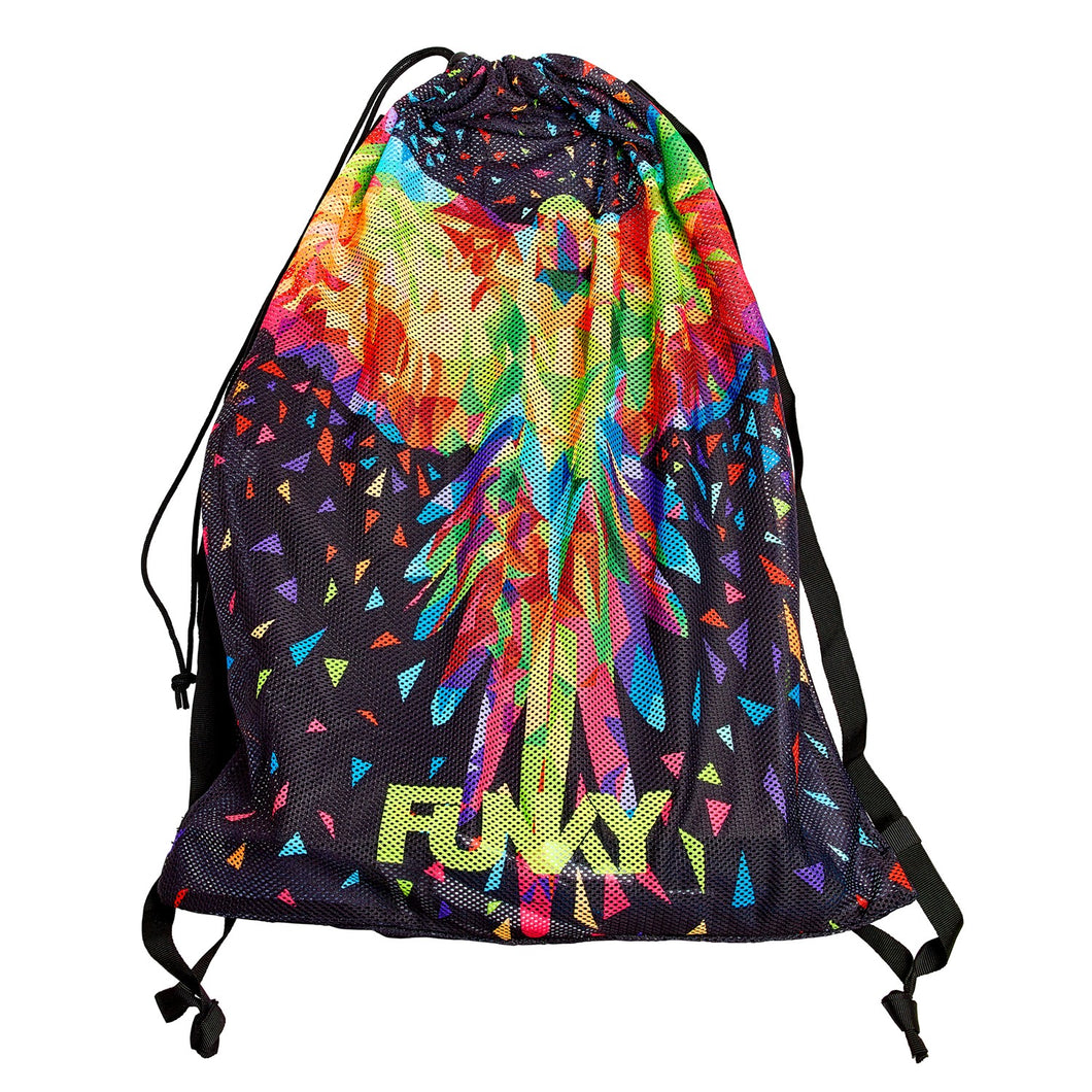 NEW! Funky Mesh Gear Bag<br>King Parrot