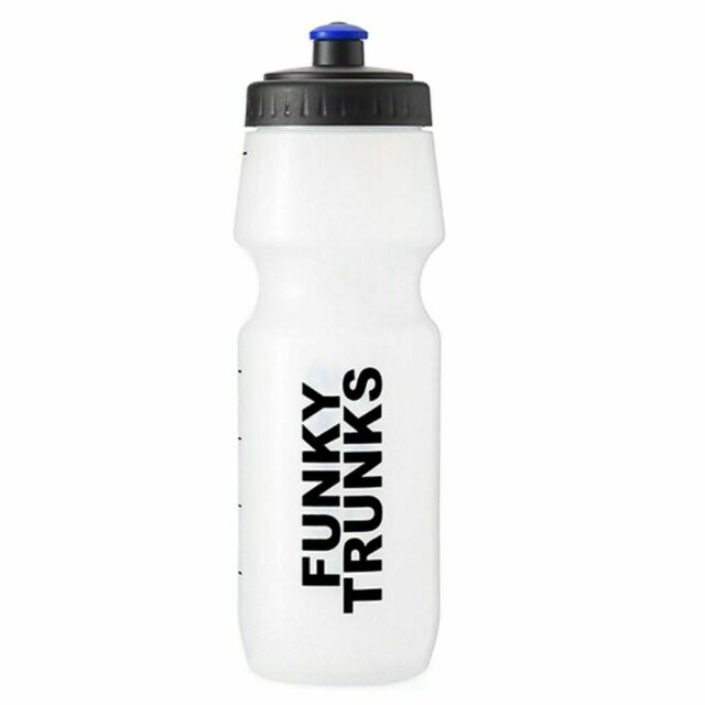 Funky Trunks Water Bottle<br/>White Crystal