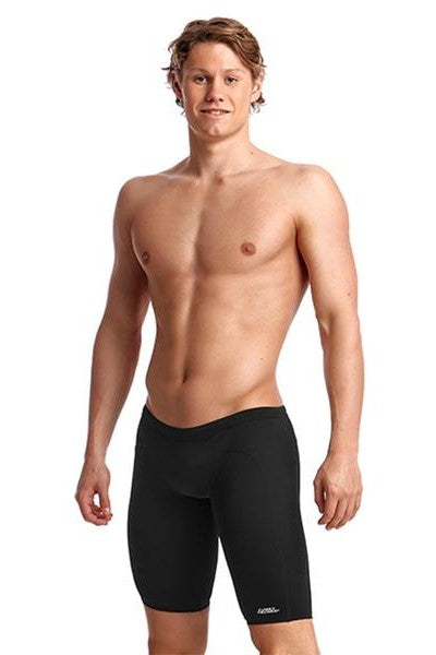 Funky Trunks Mens Training Jammers<br/>Still Black