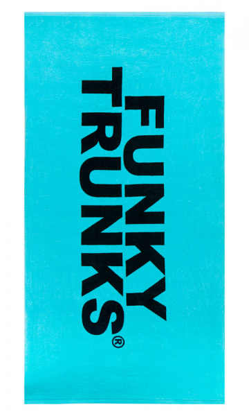 Funky Trunks Large Cotton Towel<br/>Still Lagoon