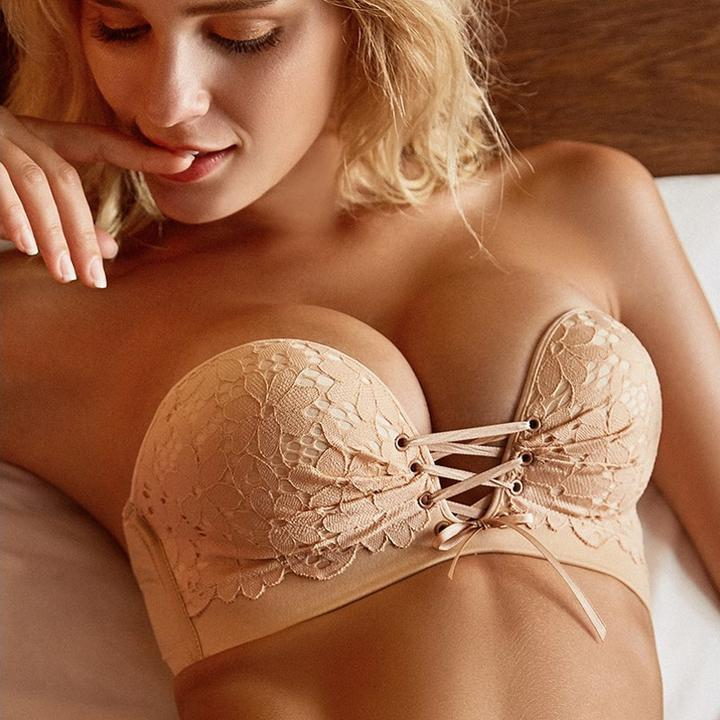 Sexy Lace Invisible Push Up Bra