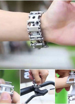 29 In 1 Stainless Steel Multi-function Tool Bracelet