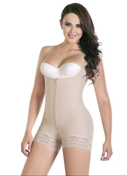 Women's Body Shaper With Zipper
