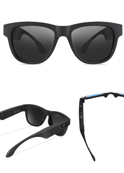 Bluetooth bone conduction intelligent glasses