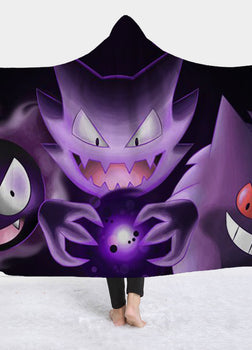 Haunter Hooded Blanket