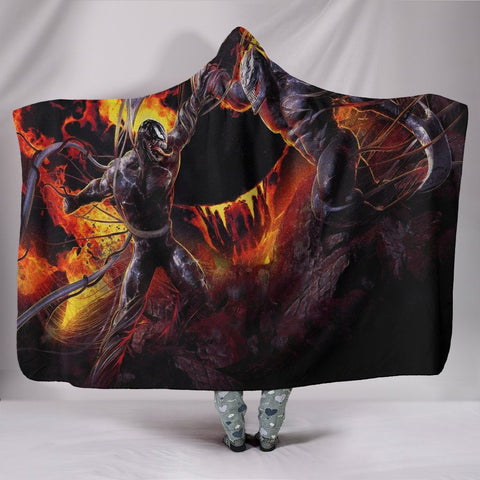 Venom Hooded Blanket