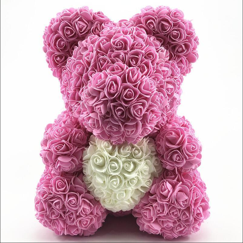 Valentine Rose Bear