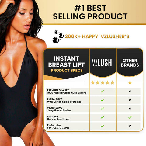 INSTANT BREAST LIFT PASTIES (1 Pair)