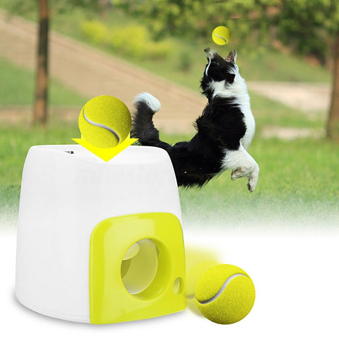 Pet Tennis Launcher Set