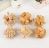 Image of 6 Pcs/Set 3D Handmade Vintage Wooden Toys
