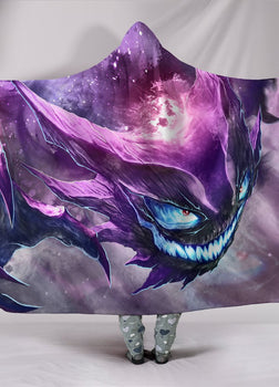 Ghost Haunter Hooded Blanket