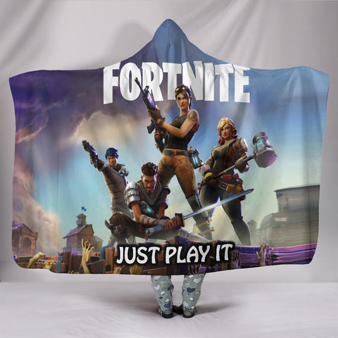 Fortnite Hooded Blanket