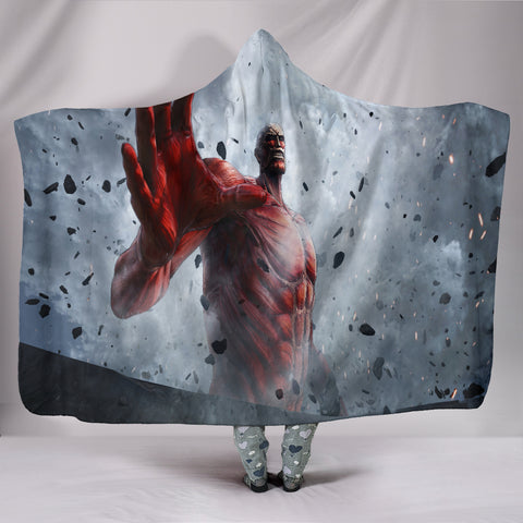 Attack on Titan Armored Hooded Blanket