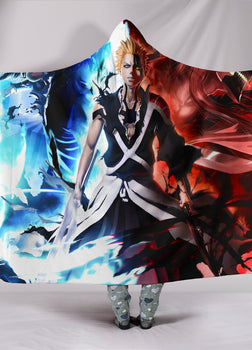 Bleach Ichigo Hooded Blanket
