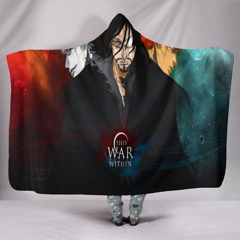 Bleach War Hooded Blanket