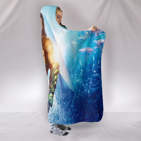 Aquaman Hooded Blanket