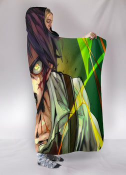 Attack on Titan Eren Hooded Blanket