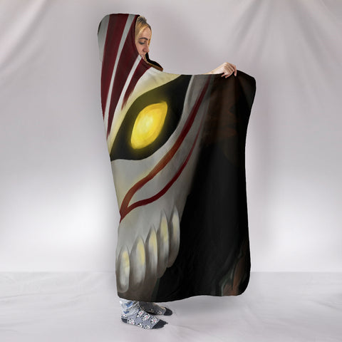Bleach Mask Hooded Blanket