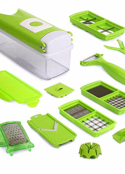 12 IN 1 MULTI-FUNCTIONAL SHREDDERS SLICERS