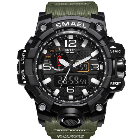 LED Digital Men's Sports Watch