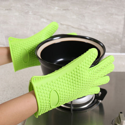 Thicken Food Grade Silicone Oven Glove